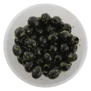 Olijven zwart met kruiden